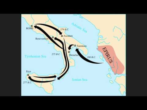 Roman History - The Pyrrhic War