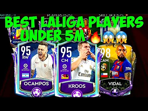BEST LALIGA PLAYERS IN EVERY POSITION UNDER 5M COINS 🔥😱/ FIFA MOBILE 20