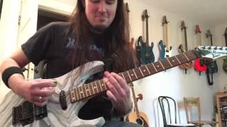 mastodon megalodon leviathan guitar cover dimarzio titan metal