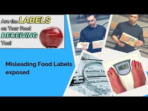 Don't Be Fooled By These Food Labels Misleading Food Labels exposed