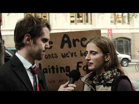 Occupy Wall Street Comedy- Be Mad at Stuff