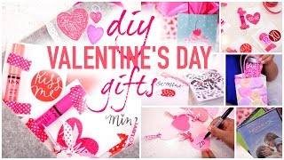Diy valentines day gift ideas! gifts! valentine's ideas for your best friends, class, family! gifts people actually want! va...