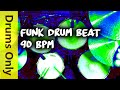 Download Funk Drum Beat 90 BPM - JimDooley.net MP3 song and Music Video