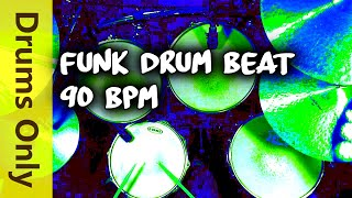Funk Drum Beat 90 BPM - JimDooley.net