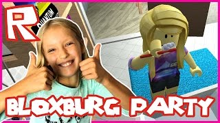 Bloxburg - Getting Ready for the Party | Roblox
