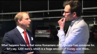 Tom Staal: European Parliament Exposed - Absurd Expenses Policies (English Subtitles)