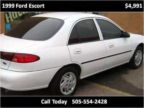 Used Cars In Albuquerque >> 1999 Ford Escort Used Cars Albuquerque Nm