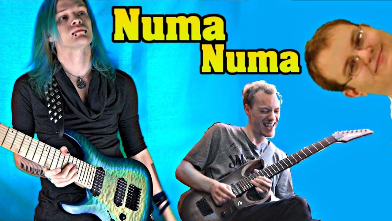 Download Numa Numa INDUSTRIAL METAL Cover by MARYJANEDANIEL ft Andrew Watson (O-Zone - Dragostea Din Tei)