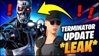 Fortnite x TERMINATOR Event Leaked! (Leaked T-800 SKINS & Sarah Connor Skin)