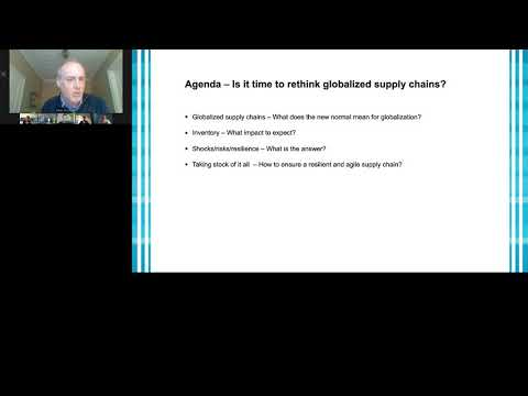 Live Webinar 'Supply Chains Reloaded: What role does Globalization play?'