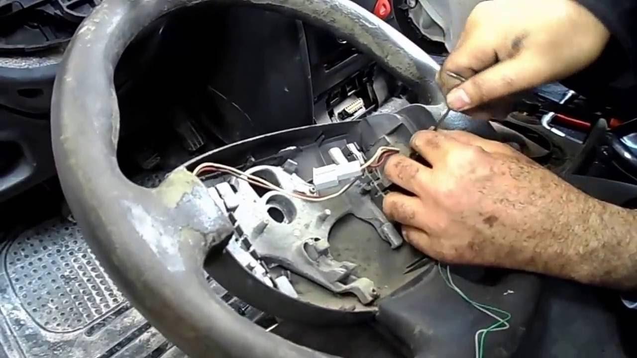 volant et airbag megane 2 mecanique mokhtar hd youtube