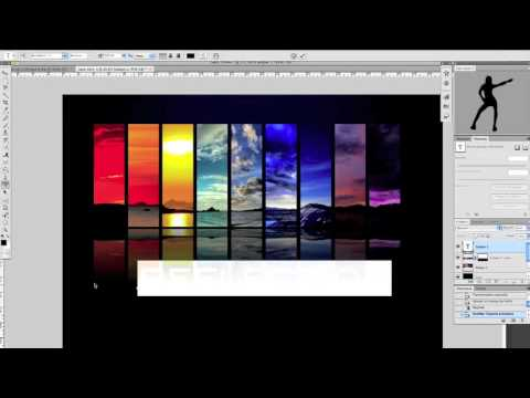 Tutorial photoshop en francais cs4 effet miroir youtube for Image miroir photoshop