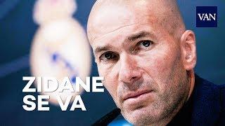 Zidane dice adiós al Real Madrid