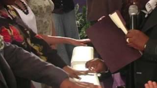 Pastor T Jennings True Love Waits ceremony