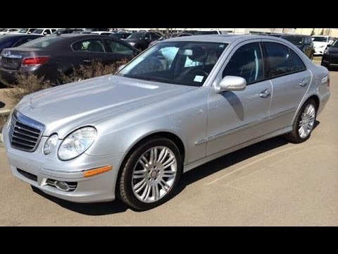 pre owned silver 2008 mercedes benz e class e350 4matic. Black Bedroom Furniture Sets. Home Design Ideas