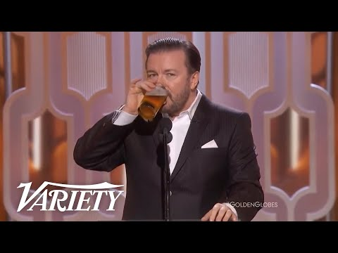 The Best of Ricky Gervais at the Golden Globes