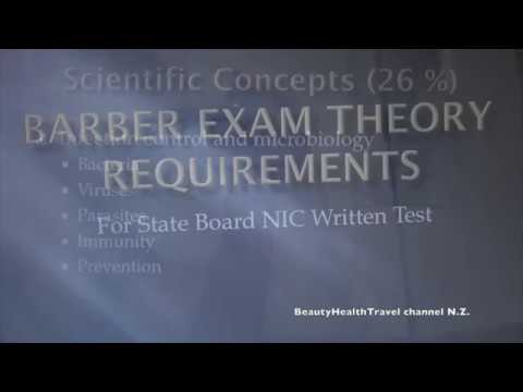 BARBERING (1): State Board Written Theory Exam Requirements