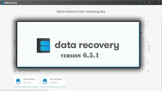 download and install data recovery version 6.5.1 with email and registration code