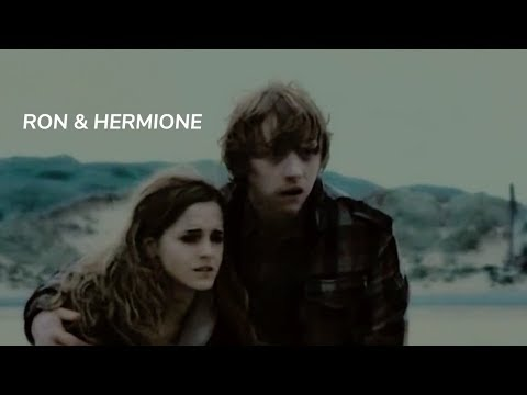 ron and hermione start dating