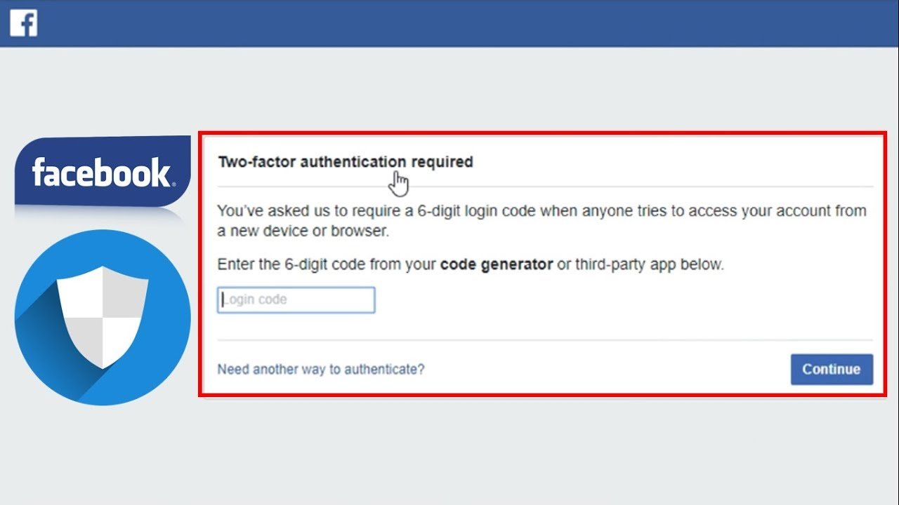 How To Turn On Two Factor Authentication On Facebook How to