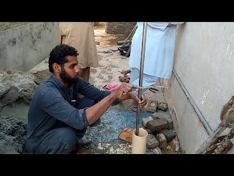 How To Drill Water Well | Installing Water Pump | Plumber | Handyman