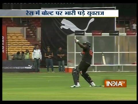 'Showman' Bolt Wows Bangalore Crowd, But With Cricket Bat - India TV