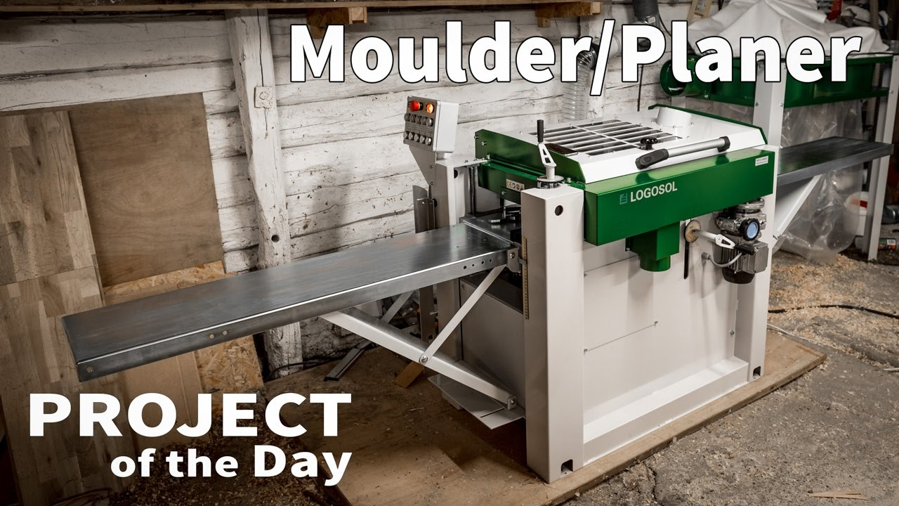 Video Logosol PH260 moulder in Drying and Processing