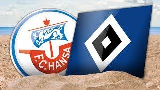 Interviews nach dem Testspiel gegen den Hamburger SV II