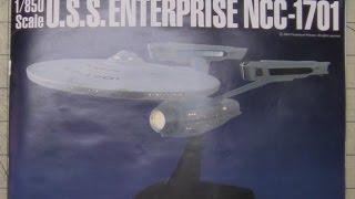 Star Trek Ban Dai NCC 1701 And TOS Build Part 1