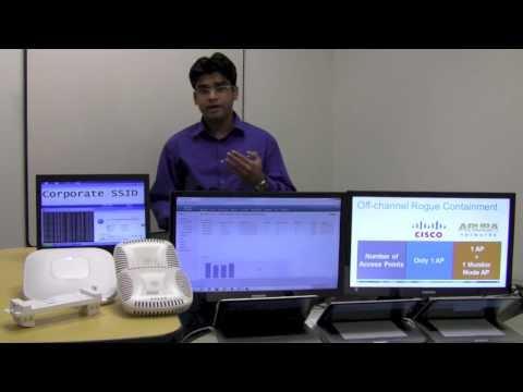Cisco Vs. Aruba Instant Rogue Containment