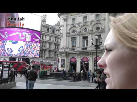 Visiting Piccadilly circus London