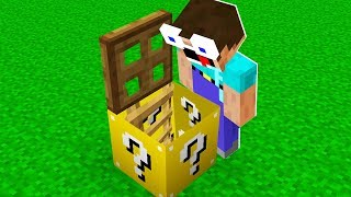 ESSE NOOB ENCONTROU ALGO INCRIVEL DENTRO DO LUCKY BLOCK! (MINECRAFT)