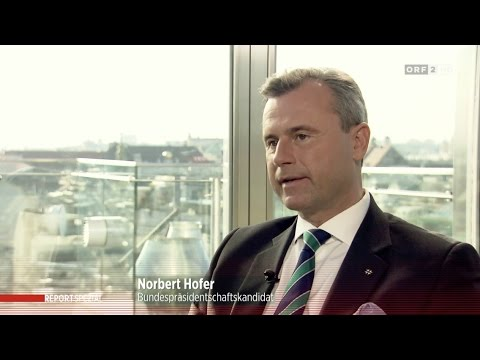 Norbert Hofer - ORF-Report - 22.11.2016