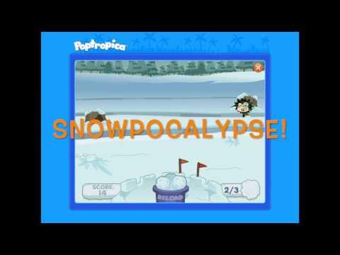 The Snowpocalypse has hit Poptropica!