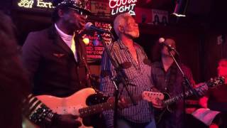 Chambers Brothers play at Guitar Shorty's Big Fund Raiser . People Get Ready . June 2016.