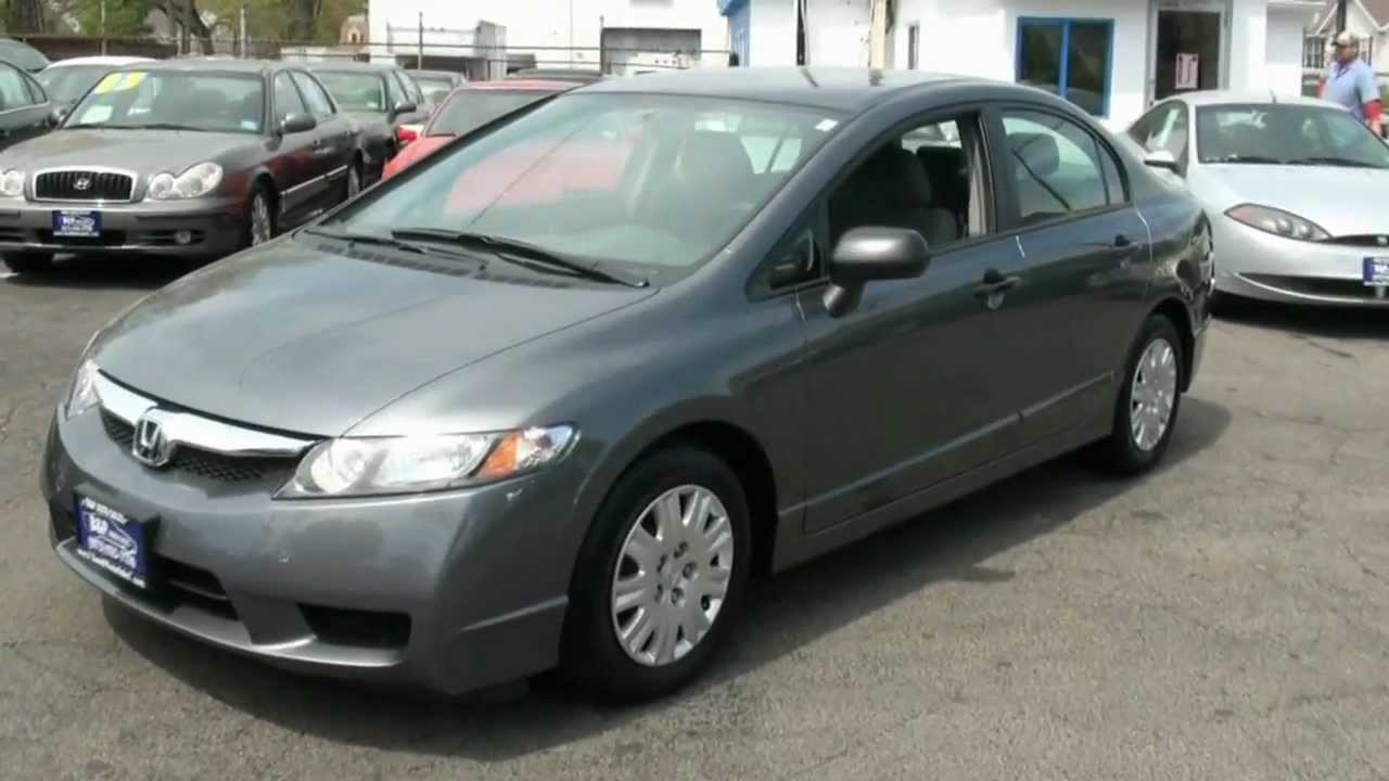 2011 Honda Civic Dx Vp Sedan Youtube