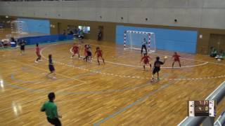 5日 ハンドボール女子 国体記念体育館 Dコート 高知東×浦添 1回戦 1