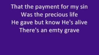 My redeemer lives - Lyrics