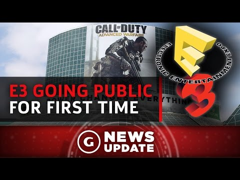 E3 Opens To The Public For The First Time Ever - GS News Update