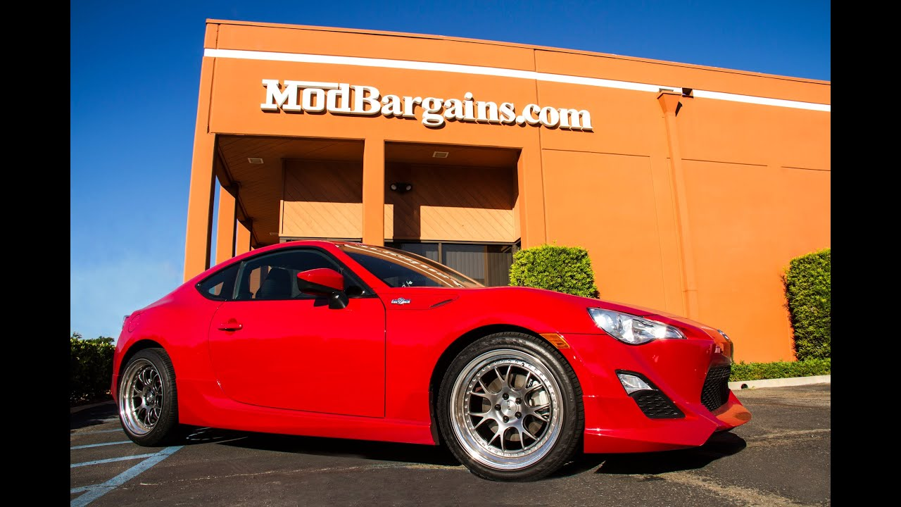 2013 Scion FR S Full Blown Turbo Installation