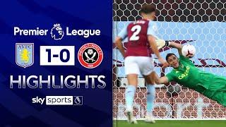 Martinez saves penalty on Villa debut! | Aston Villa 1-0 Sheff Utd | Premier League Highlights