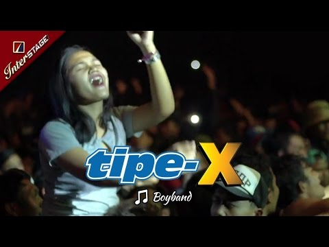[SUKABUMI APRIL] BOYBAND | HEBOH BANGET! Joget Penonton TIPE-X Saat LIVE 2017 di SECAPA