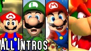 Mario Party ALL INTROS 1998-2015 (Wii U, Wii, GCN, N64)