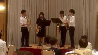 生命の奇跡 / 村松崇継 Schelmisch Saxophone Quartet Twitter→https://...
