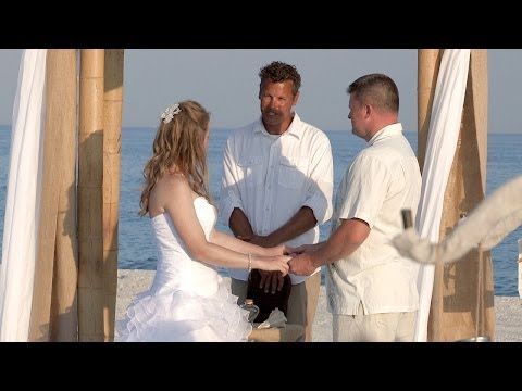 Gulf Shores Wedding by Paradise Beach Weddings