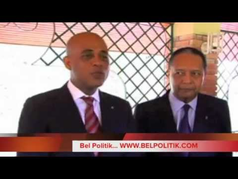 Rencontre President Michel Martelly & Jean-Claude Duvalier