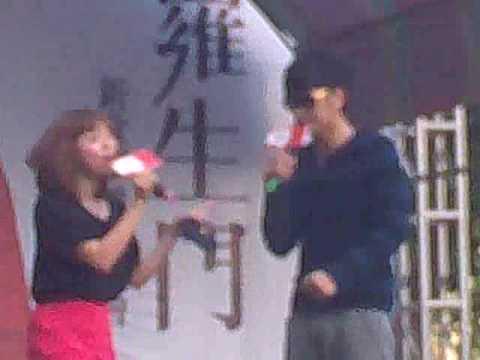 2010-01-03 羅志祥羅生門預購簽唱會 台中場  愛瘋頭+主持訪問