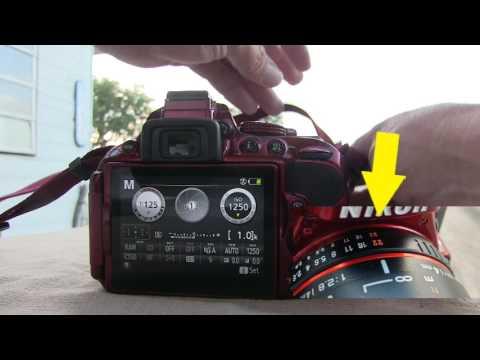 "Rokinon, Nikon Lenses: ""Lock Lens Aperture Ring at Minimum Aperture (Largest f/-number)"""