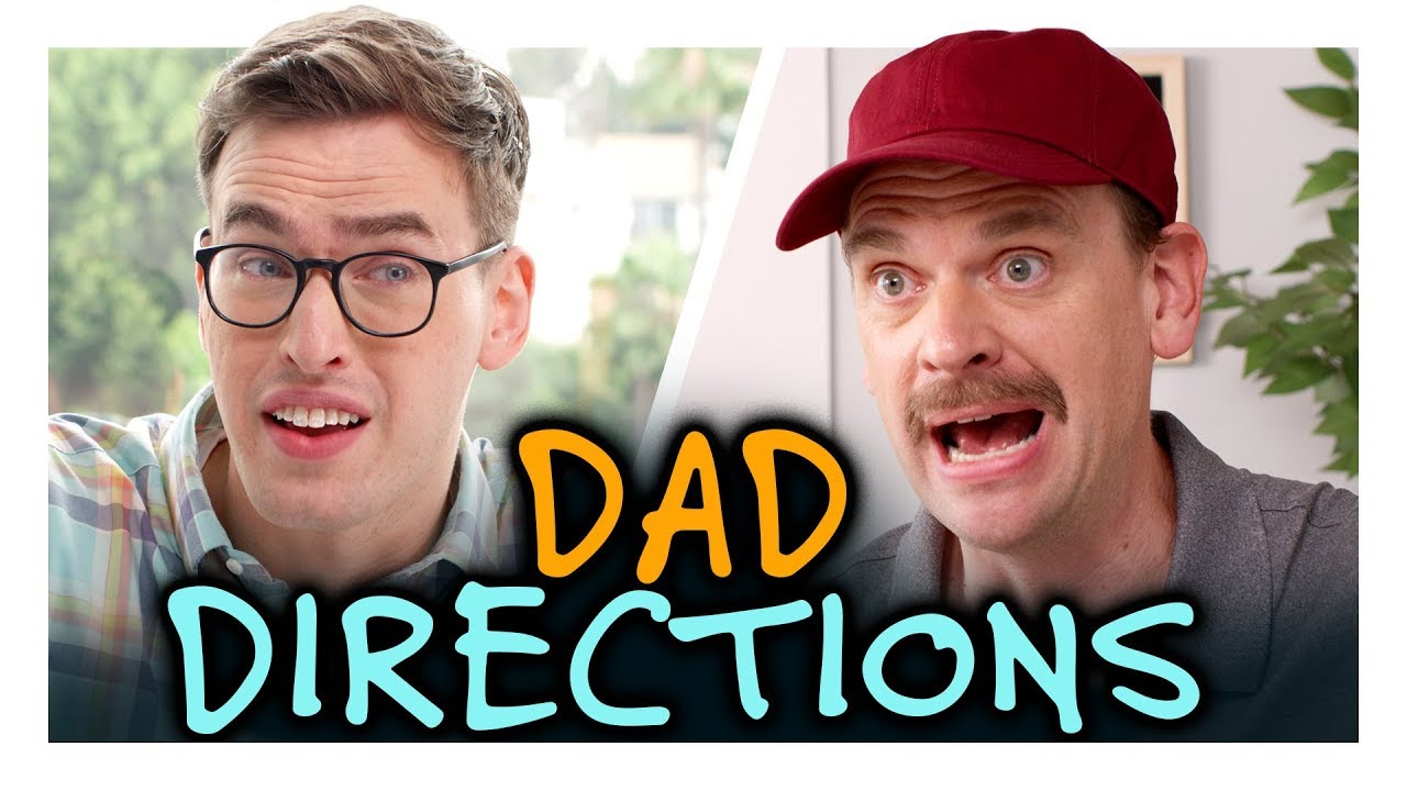 We Don't Need Directions from Dad Anymore