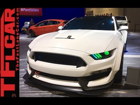 New Ford SEMA Custom Cars & Trucks Up Close & Exposed